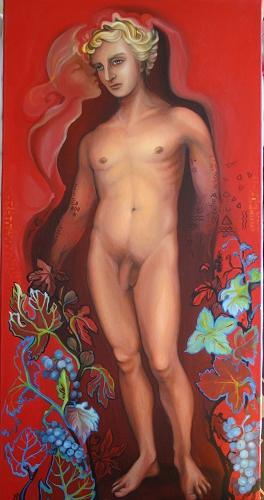 Huile sur toile 40 x 80 cm, 2008