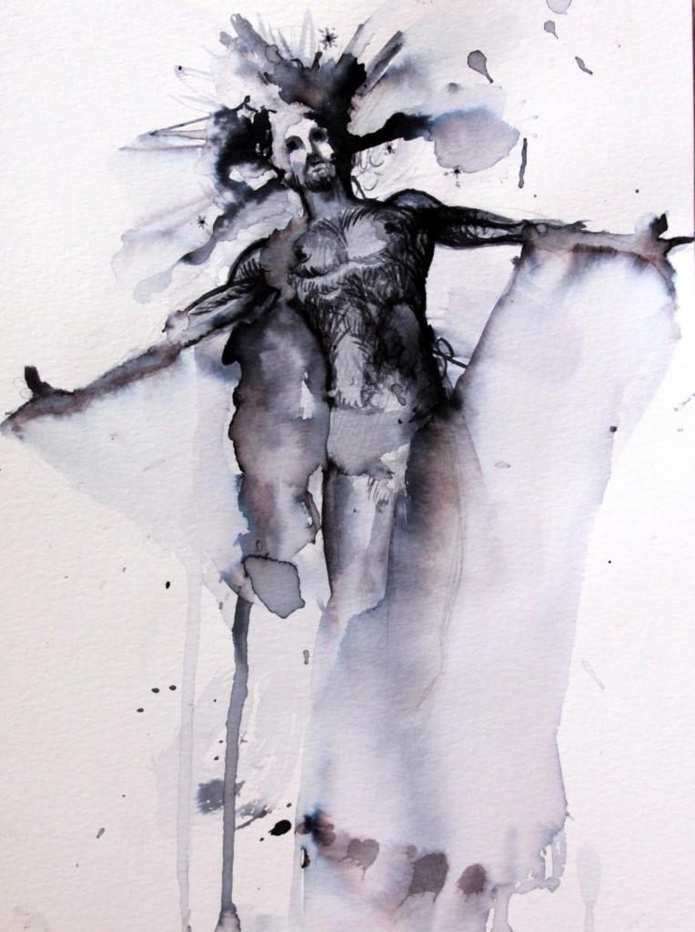 Encre sur papier, 21x29.7 cm, 2017