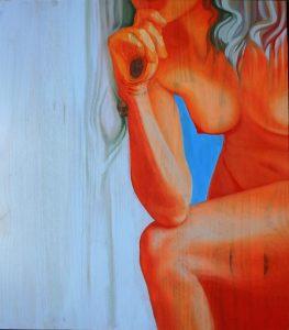 Peinture, icône sur bois